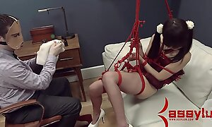 Tiny Asian Marika Hase receives abusive anal therapy