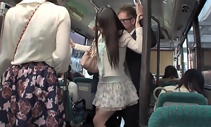 Best Japanese girl in Fabulous HD, Public JAV movie