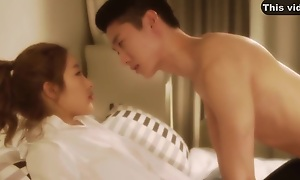 Korean Teen - A Nice Couple Gets Fucked In A Hotel Room