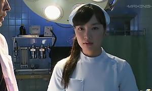 Crazy Japanese whore in Exotic Nurse, HD JAV clip