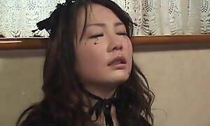 Slapping Asian girl