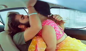 Indian slut fucking in car with her ex-boyfriend