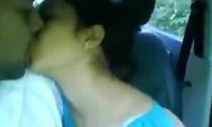 super cute women tinaa arora boobshow in car