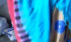 Indian Kamwali, boobs fondled