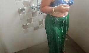 Indian Stepmom, Bathroom Sex