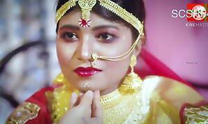 Freshly married Desi Indian women getting fucked in saree