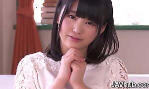 JAVHUB, Japanese cutie Tsuna Kimura teased then fucked