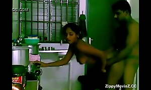 Young and cute Bengali girl rides her boyfriend