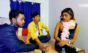 Threesome Group sex by Indians