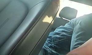 Indian milf fingered in car backseat