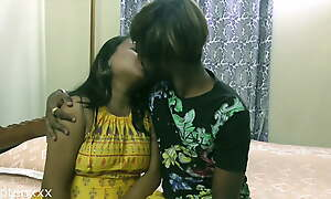Indian sexy girl dating a black guy for the first time
